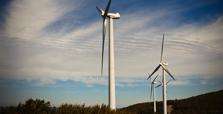 Windkraftleistung